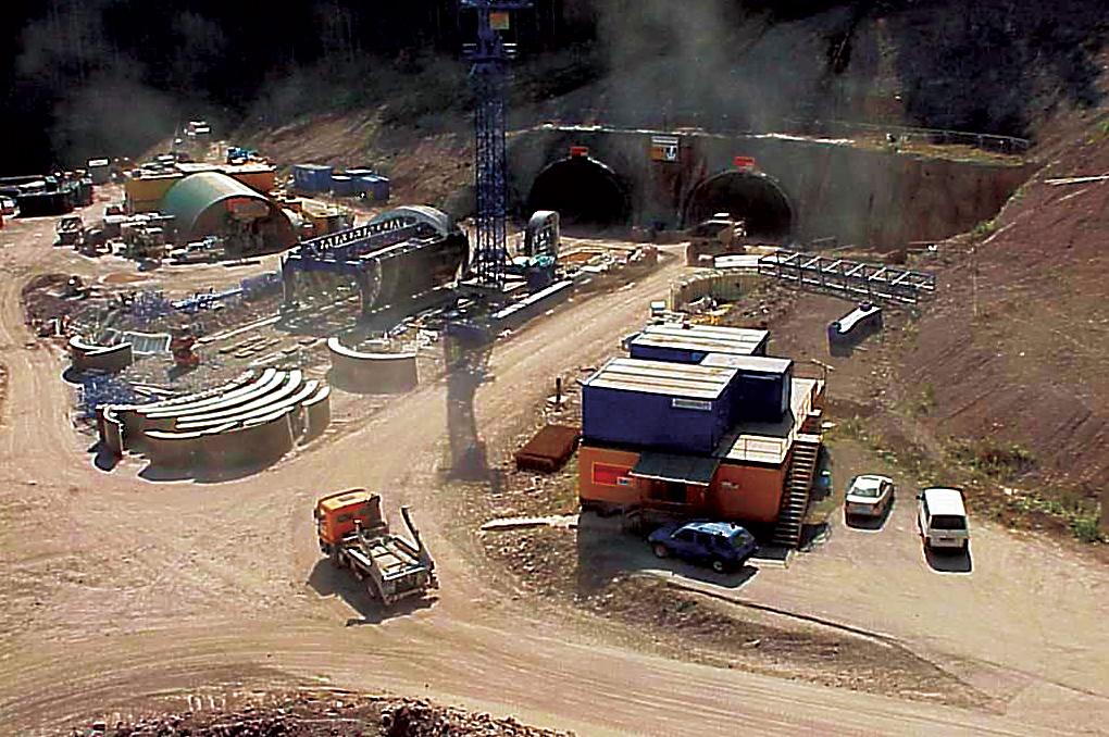 Rennsteig Tunnel